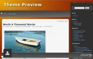 WordPress 完全日本語対応でフリー(無料)のテーマ「Wallow」