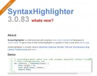 ホスティングとAutoloaderでソースコードを綺麗に見せるSyntaxhighlighterをコピペで簡単設置