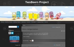 WordPress アメブロのフッターナビのようなクイックバー「TwoBeers Quickbar」プラグイン