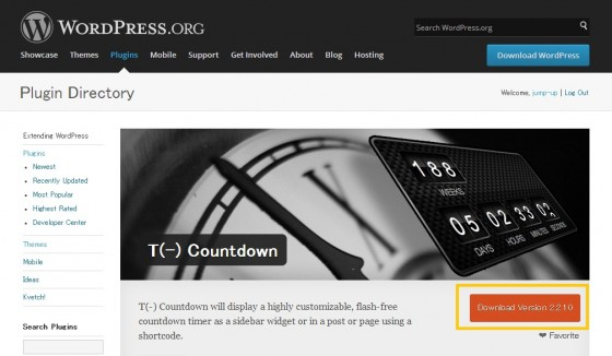 WordPress - T    Countdown ≪ WordPress Plugins