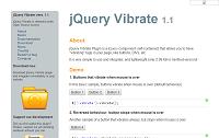要素を小刻みに振動(wiggle)させる jqueryプラグイン3選-その1「jQuery Vibrate」